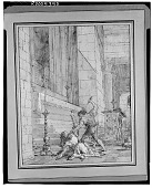 view The Slaying of Zacharias [drawing] / (photographed by Walter Rosenblum) digital asset number 1