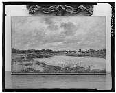 view No Title Given: Landscape with Pond, [art work] / (photographed by Walter Rosenblum) digital asset number 1