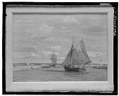 view No Title Given: Sailing Ships, [art work] / (photographed by Walter Rosenblum) digital asset number 1