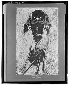 view Portrait of Henri Michaux [drawing] / (photographed by Walter Rosenblum) digital asset number 1