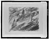 view Hafen Eingang [drawing] / (photographed by Walter Rosenblum) digital asset number 1