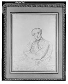 view Pierre-Francois-Henri Labrouste [drawing] / (photographed by Walter Rosenblum) digital asset number 1