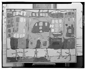 view View of Paris with Furtive Pedestrians [painting] / (photographed by Walter Rosenblum) digital asset number 1