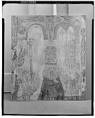 view Soudards Penitents dans une Cathedrale [painting] / (photographed by Walter Rosenblum) digital asset number 1