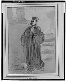 view Figure Study of a Lawyer [art work] / (photographed by Walter Rosenblum) digital asset number 1