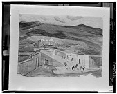 view Mitla [painting] / (photographed by Walter Rosenblum) digital asset number 1