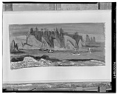 view Return of the Salmon Boats [painting] / (photographed by Walter Rosenblum) digital asset number 1