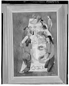 view Children Drawing [painting] / (photographed by Walter Rosenblum) digital asset number 1