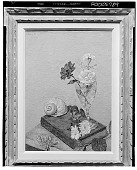view Flowers and Seashell [painting] / (photographed by Walter Rosenblum) digital asset number 1