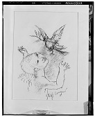 view Child and Dove [drawing] / (photographed by Walter Rosenblum) digital asset number 1