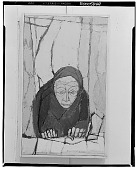 view No Title Given: Old Woman [painting] / (photographed by Walter Rosenblum) digital asset number 1
