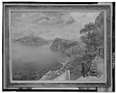 view View of Capri, [painting] / (photographed by Walter Rosenblum) digital asset number 1