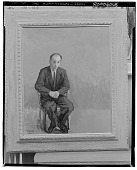 view Portrait of Herman Gulak [painting] / (photographed by Walter Rosenblum) digital asset number 1