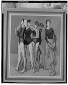 view Five Dancers [painting] / (photographed by Walter Rosenblum) digital asset number 1