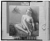 view Nude with White Slip [painting] / (photographed by Walter Rosenblum) digital asset number 1