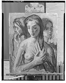 view Three Women [painting] / (photographed by Walter Rosenblum) digital asset number 1