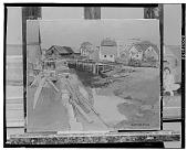 view Coastal Town [art work] / (photographed by Walter Rosenblum) digital asset number 1