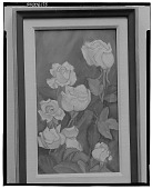 view No Title Given: Roses [painting] / (photographed by Walter Rosenblum) digital asset number 1