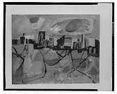 view New York Bay [painting] / (photographed by Walter Rosenblum) digital asset number 1