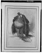 view Man in Fur Coat [drawing] / (photographed by Walter Rosenblum) digital asset number 1