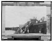 view Crowd and Boardwalk [painting] / (photographed by Walter Rosenblum) digital asset number 1