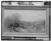 view Autumn Landscape, Catskills, [painting] / (photographed by Walter Rosenblum) digital asset number 1
