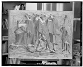 view Figure Group [painting] / (photographed by Walter Rosenblum) digital asset number 1