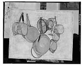 view Still Life with Cookware [painting] / (photographed by Walter Rosenblum) digital asset number 1