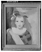 view Jeune Femme en Bleu [painting] / (photographed by Walter Rosenblum) digital asset number 1