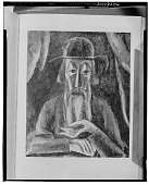 view The Rabbi [painting] / (photographed by Walter Rosenblum) digital asset number 1