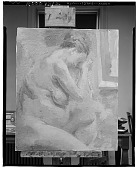 view Pregnant Nude [painting] / (photographed by Walter Rosenblum) digital asset number 1
