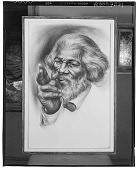 view Frederick Douglass [drawing] / (photographed by Walter Rosenblum) digital asset number 1