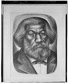 view Frederick Douglass [graphic arts] / (photographed by Walter Rosenblum) digital asset number 1