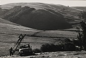 view Running Fence, Sonoma and Marin Counties, California, 1972-76 digital asset number 1