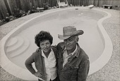 view Running Fence, Sonoma and Marin Counties, California, 1972-76, Mr. and Mrs. Wilbur Volkerts digital asset number 1