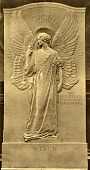 view Welch Monument Angel [sculpture] / (photographer unknown) digital asset number 1