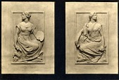 view Gould Memorial Library Doors [sculpture] / (photographer unknown) digital asset number 1