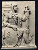 view The Guardians of the Portal [sculpture] / (photographed by De Witt Ward) digital asset number 1