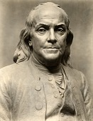 view Benjamin Franklin (detail view) [sculpture] / (photographed by De Witt Ward) digital asset number 1