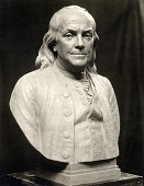 view Benjamin Franklin [sculpture] / (photographed by De Witt Ward) digital asset number 1