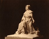 view Plaster model for The Pilgrim Mother [sculpture] / (photographed by A. B. Bogart) digital asset number 1