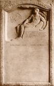 view Herron Tablet: detail of Benefactors Tablet [sculpture] / (photographer unknown) digital asset number 1