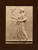 view Seal of the Fine Arts Federation of New York [sculpture] / (photographer unknown) digital asset number 1