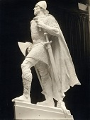 view Model for Statue of Leif Ericson [sculpture] / (photographed by De Witt Ward) digital asset number 1