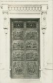 view Senate Doors: George Washington and the Revolutionary War Doors [sculpture] / (photographer unknown) digital asset number 1
