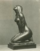 view Kneeling Woman [sculpture] / (photographed by De Witt Ward) digital asset number 1
