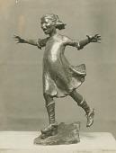 view Roller Skating [sculpture] / (photographed by De Witt Ward) digital asset number 1