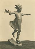 view Girl Skating [sculpture] / (photographed by R. V. Smutny) digital asset number 1