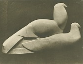 view Two Doves [sculpture] / (photographed by Paul Laib) digital asset number 1
