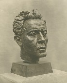 view Hans Kindler [sculpture] / (photographed by Paul Laib) digital asset number 1